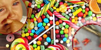Почему детям не рекомендуется давать сладкое. Фото не для слабонервных