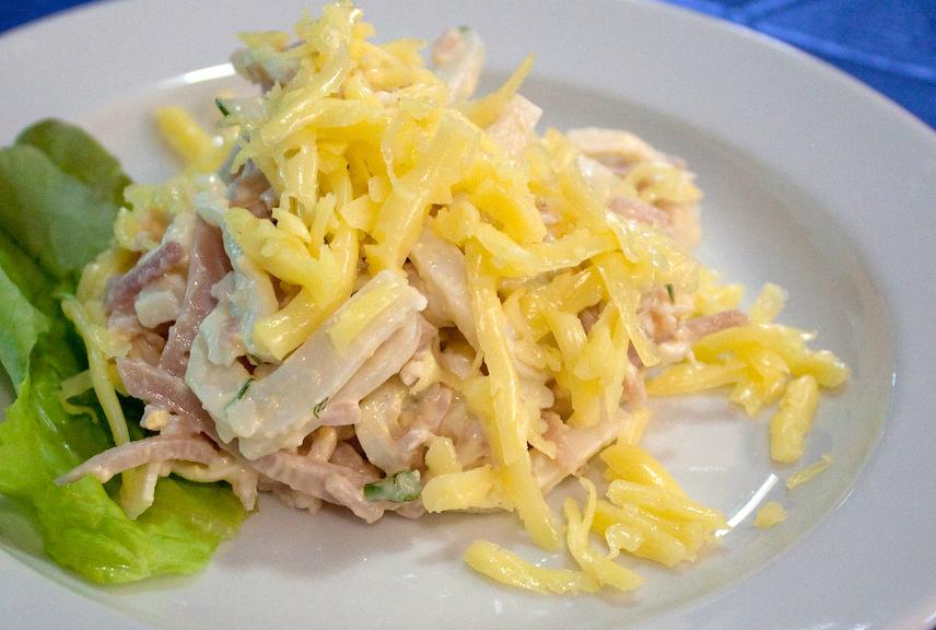 Топ-10 быстрых и вкусных салатов