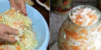 Квашеная капуста «Прабабулин рецепт»: такой хрустящей нигде не найдешь!