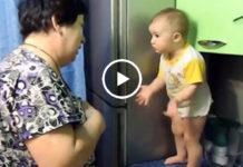 Диалог бабушки и внучки! Такое видео вызывает смех сквозь слезы…