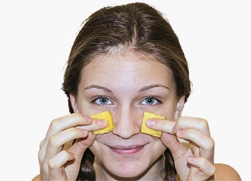 Польза банановой кожуры для лица