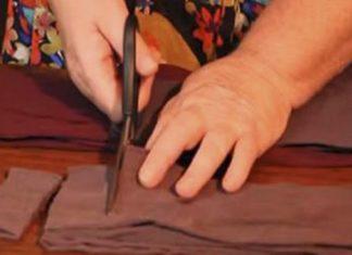 Она разрезала старые капроновые колготки… Результат удивил даже опытных хозяек!
