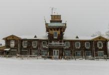 Жемчужина аэропортового деревянного зодчества России