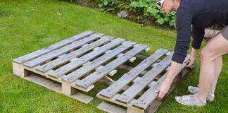 Ты придешь в восторг, узнав, зачем эта девушка разрезала деревянный поддон на 3 части!
