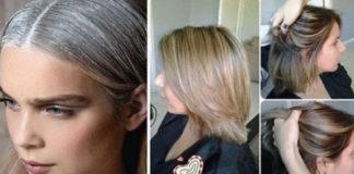 Насыщенный цвет волос без химического окрашивания! Избавилась от серебристых прядей…