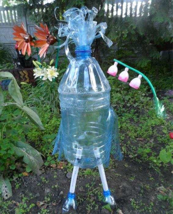 Поделки из пластиковых бутылок и описание