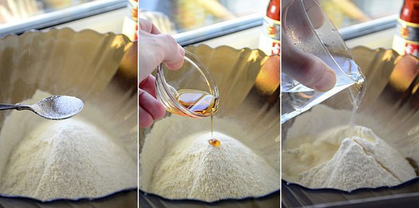 Китайские лепешки с зеленым луком: Хрустящая корочка и мягкая текстура внутри, слегка солоноватый аромат хлеба!
