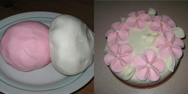 Украшение тортов из мастики в домашних условиях пошагово