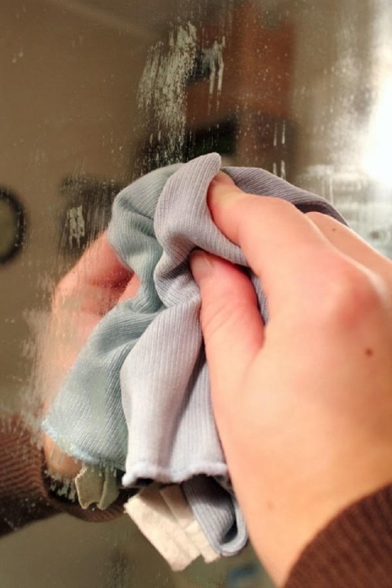 Это произойдет, если намазать мылом зеркало. Я оценил по достоинству хитрый прием!📌