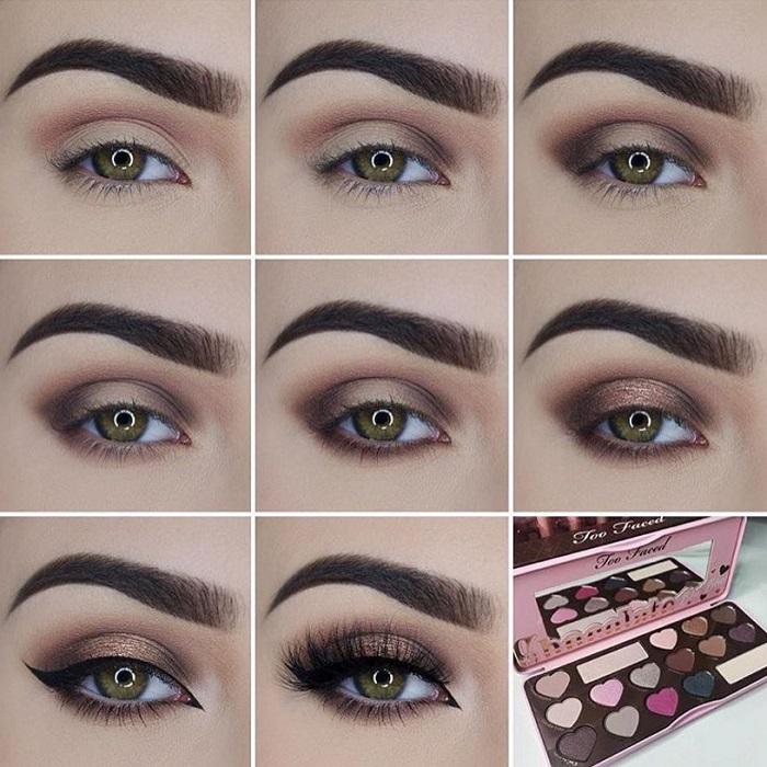 Как сделать глубокие глаза с помощью макияжа