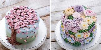 Эти торты такие красивые, что над ними даже дышать страшно