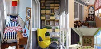 20 актуальных идей, как создать уютный интерьер на балконе и лоджии