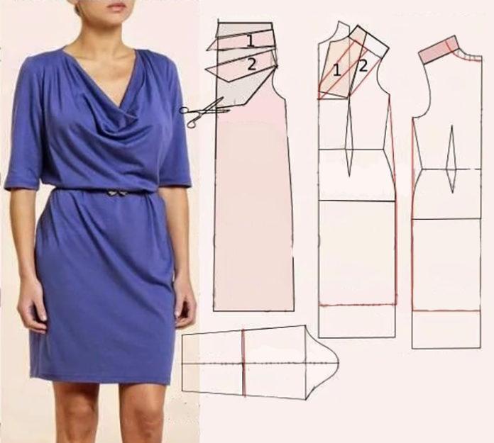 Сшить платье своими руками с инструкцией и выкройкой