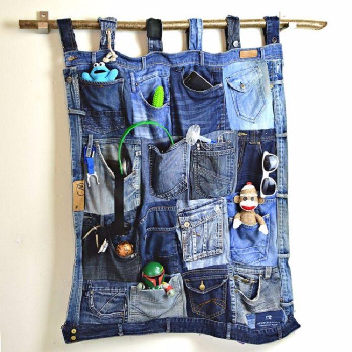 Кармашки из джинсов своими руками 12