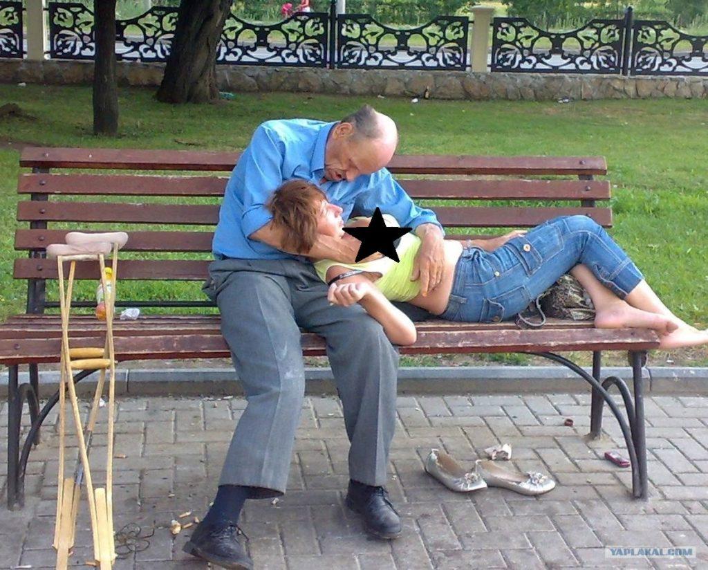 Смотреть секс на скамейке 241