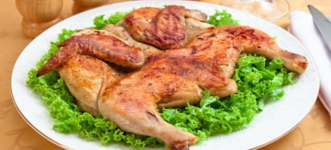 Цыпленок табака - рецепт в духовке, на сковороде под прессом, в мультиварке и на гриле! Невероятно вкусно!