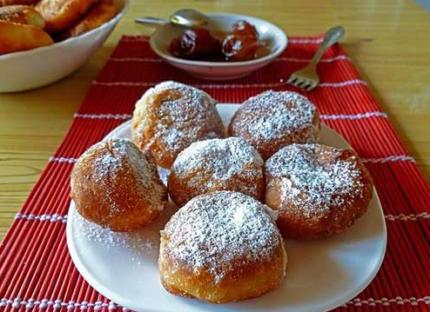 Рецепт пончиків в домашніх