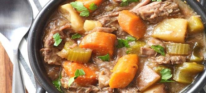 Как приготовить рагу мясо