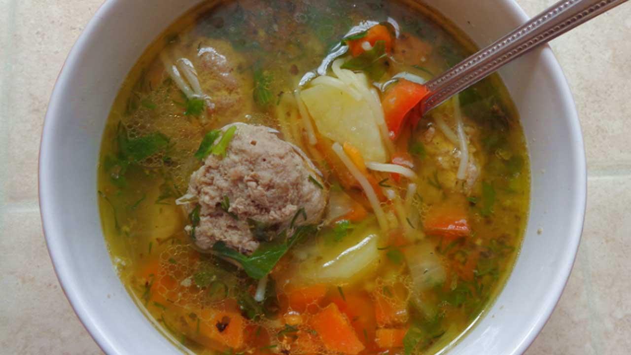 Суп с фрикадельками и клецками рецепт с пошаговый рецепт