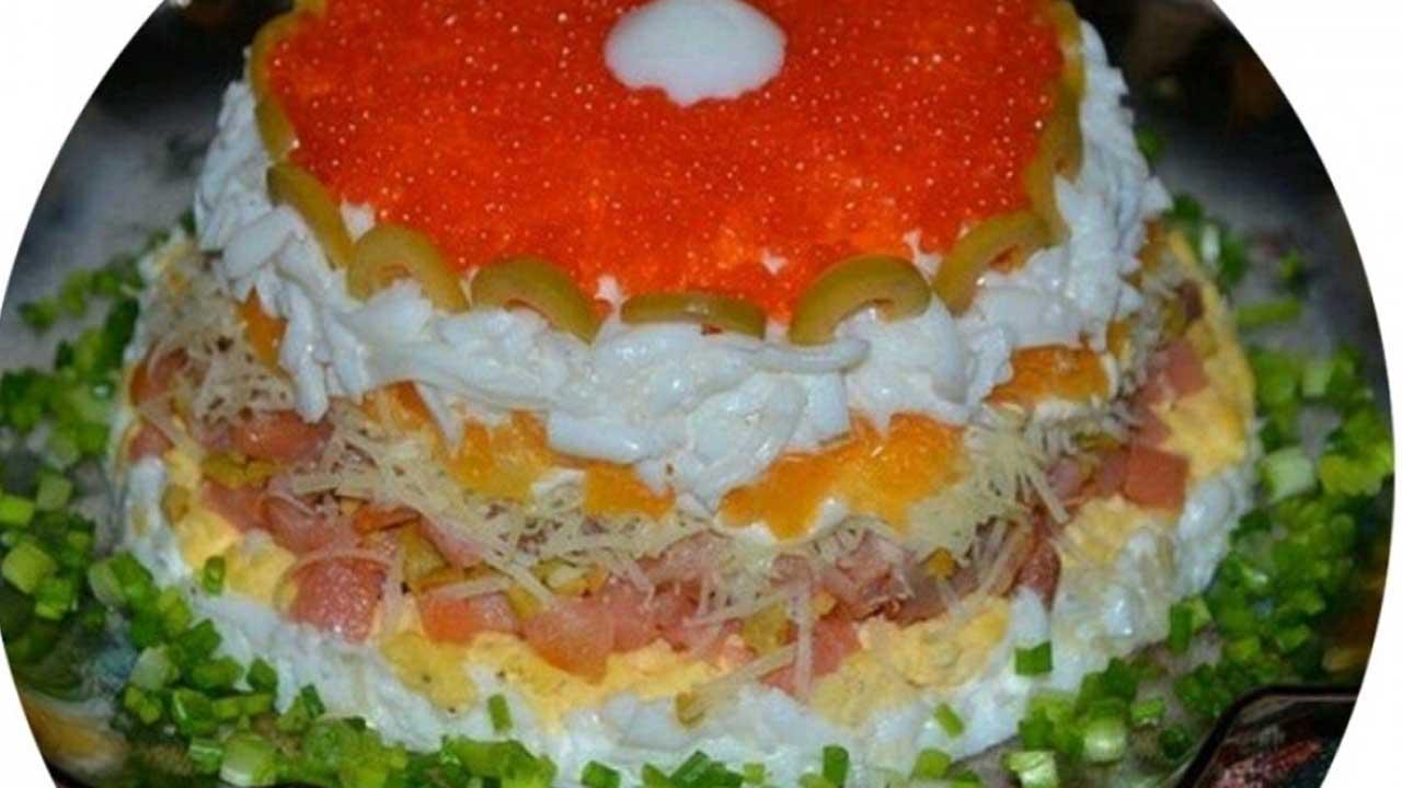 рецепты любимые салаты