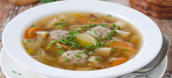 как сделать тефтели из фарша в суп