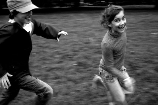 10-yard games that our children do not know.
