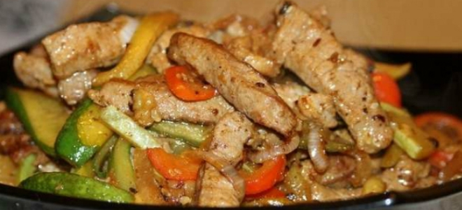 Pork in Chinese - Recipes in sweet and sour sauce, with vegetables, pineapples and in batter.