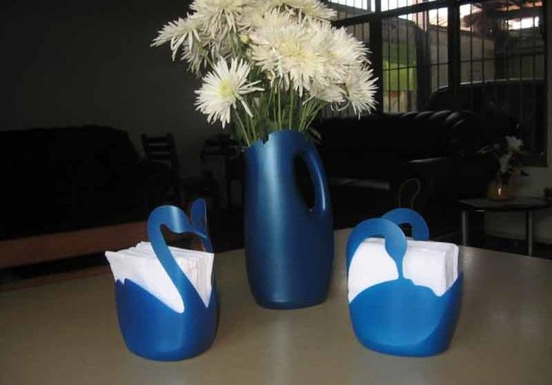 Поделки из пластиковых бутылок для дома и сада своими руками