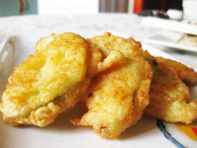 жареный кабачок в кляре рецепт с фото пошагово