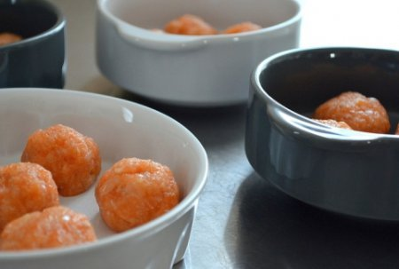 Creamy Fish Meatballs