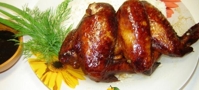 Куриные крылышки в медово-соевом соусе с чесноком рецепт ...