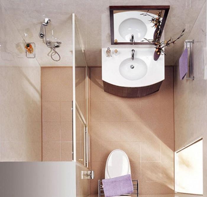 25 впечатляющих идей по правильному оформлению маленькой ванной комнаты