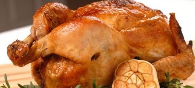 Chicken With Garlic In The Oven
