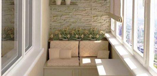 Балкон копилка оригинальных идей.