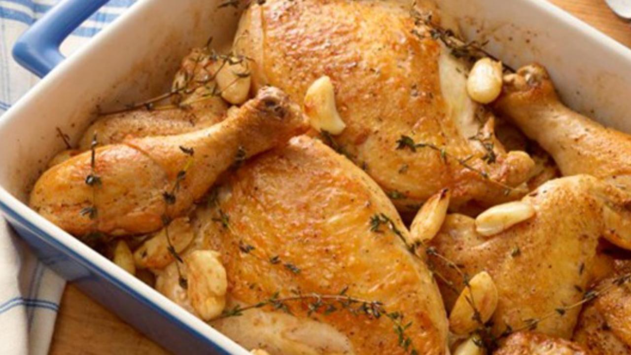 курица запеченная в духовке целиком рецепт с майонезом и чесноком