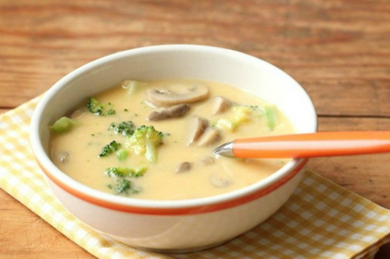 Сыр суп рецепт с пошагово в