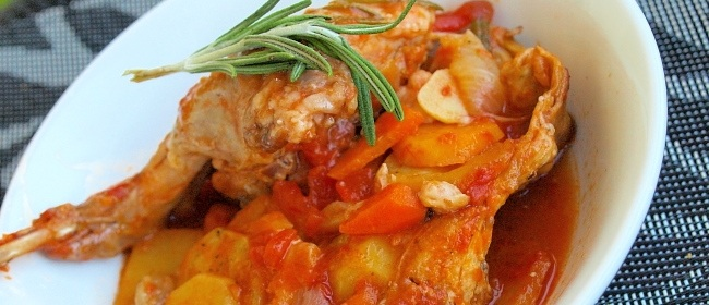 Мясо тушеное с овощами - рецепт из свинины, курицы, кролика и говядины с подливкой