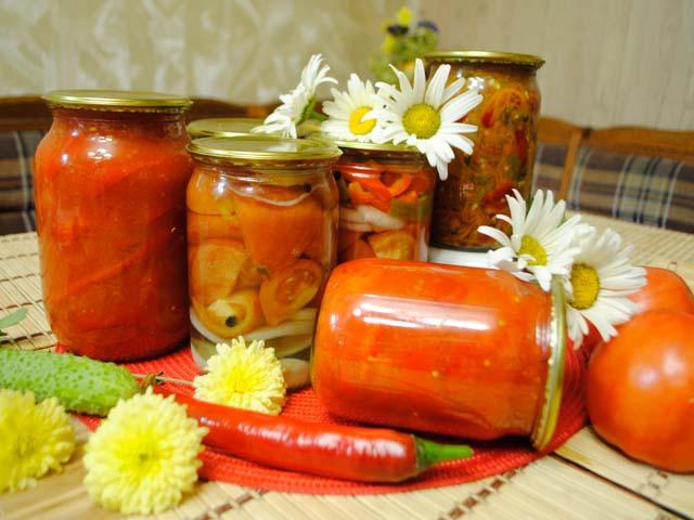 быстрые салаты из овощей на зиму рецепты