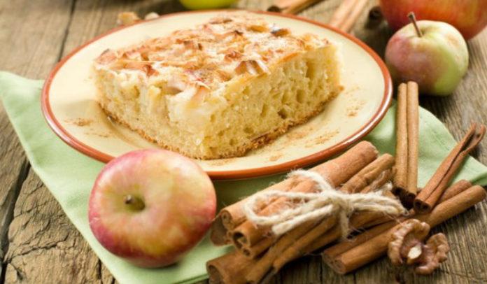 Легкий рецепт шарлотки с яблоками в духовке с фото пошагово
