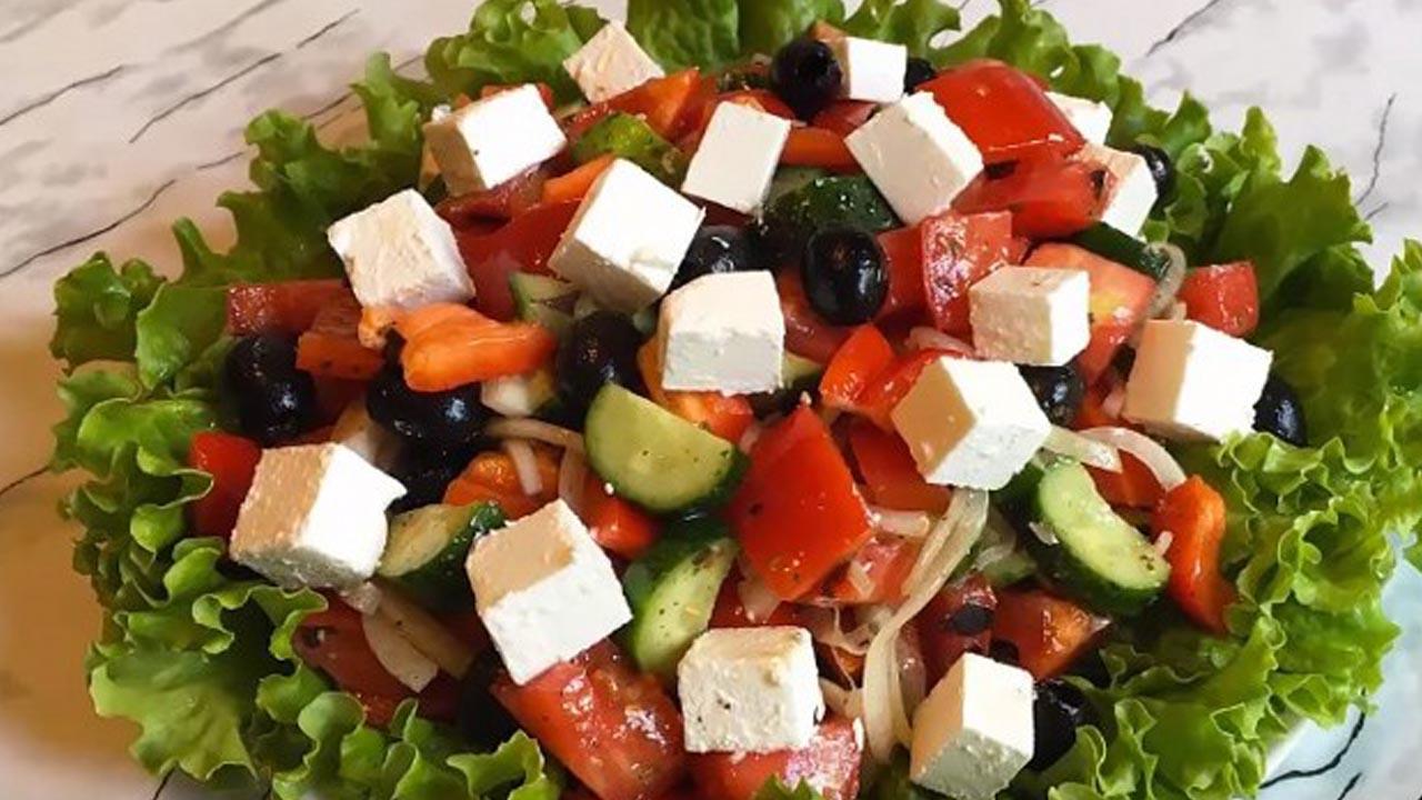 Рецепты приготовления греческого салата с пошагово