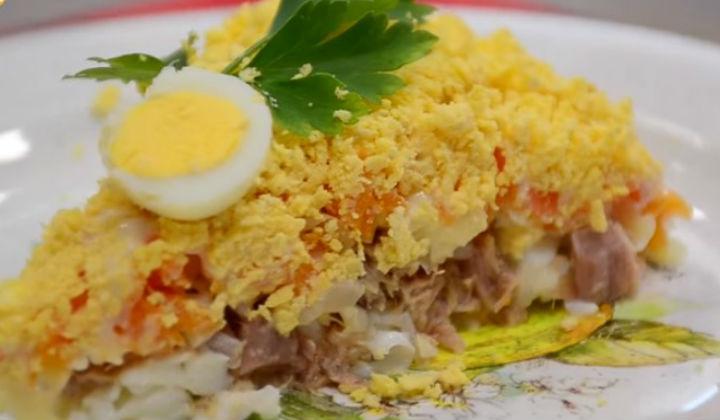 салат мимоза пошаговый рецепт с фото