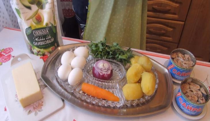 салат нежный рецепт классический рецепт