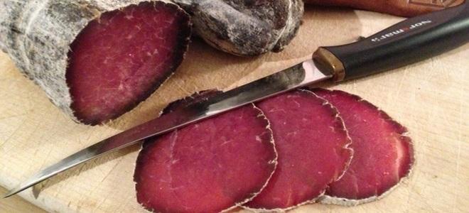 Вяленое мясо - рецепты в домашних условиях из говядины, свинины и куриной грудки