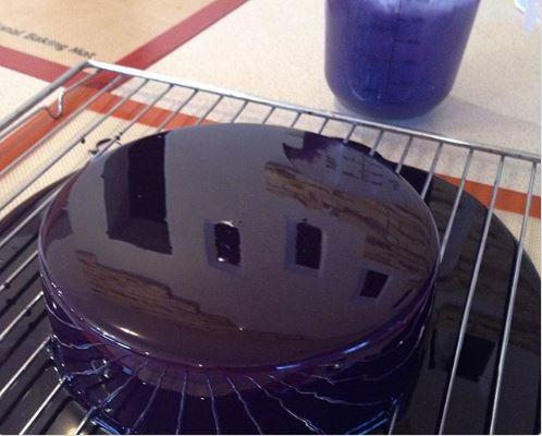 How to make a mirror enamel.
