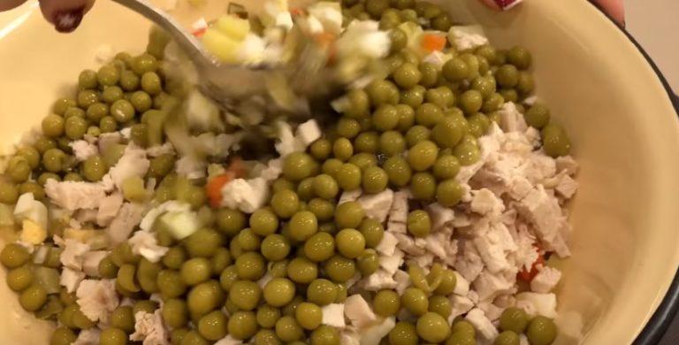 Классические рецепты очень вкусного салата оливье к Новому году 2018