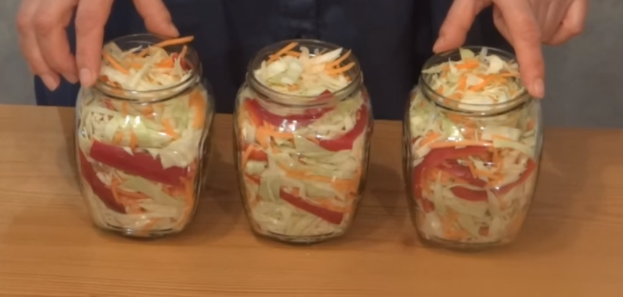 Instant Marinated Cabbage - Delicious Recipes