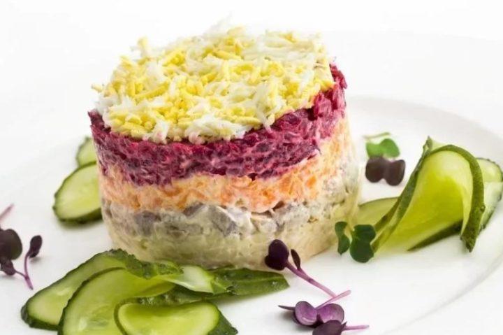 Вкусный несложный салат рецепт пошагово 197