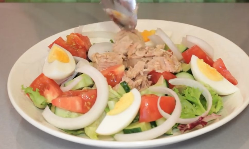 Canned Tuna Salad