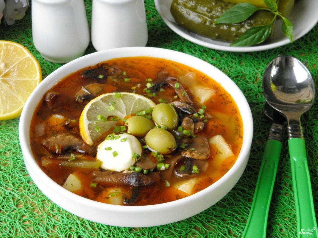 Рецепт солянки по-грузински пошагово