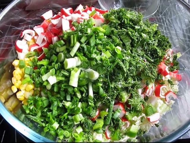 заправки для салатов из капусты рецепты